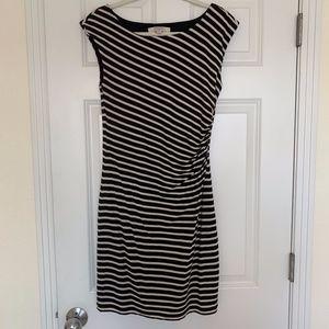 Ann Taylor Loft Striped Dress Size Medium